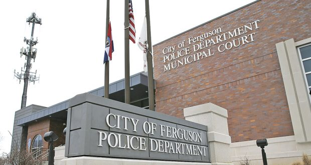 Ferguson's police department and municipal courts building. AP file photo