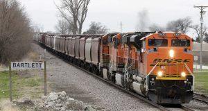BNSF, train